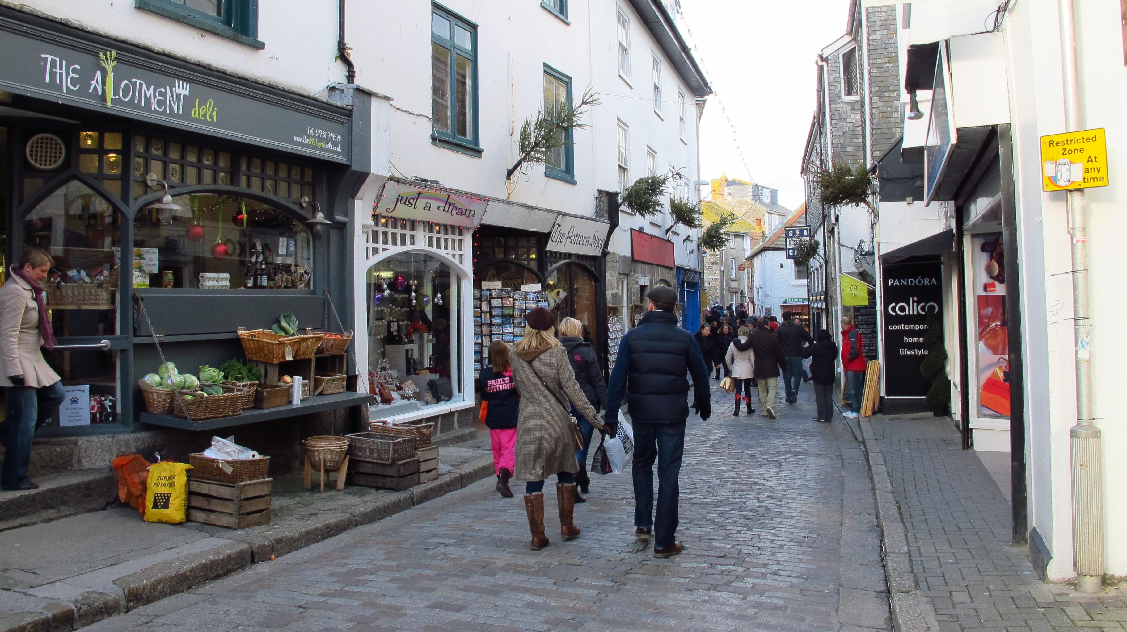 shops cornwall